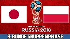 JAPAN : POLEN | 3. Runde Gruppenphase | FIFA WM 2018 Prognose