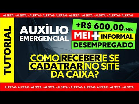 TUTORIAL COMO RECEBER O AUXÍLIO EMERGENCIAL 600 REAIS [TUTORIAL CADASTRO NO SITE DA CAIXA]