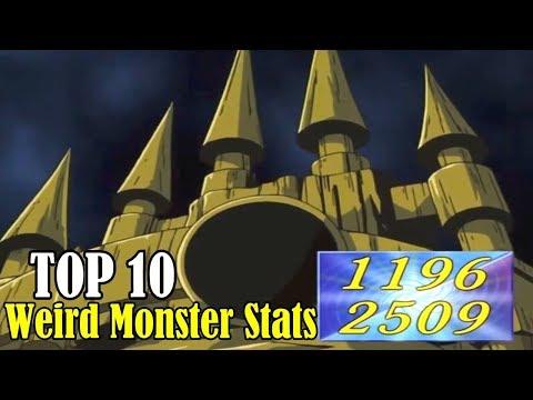 TOP 10: Weird Yu-Gi-Oh! Monsters Stats