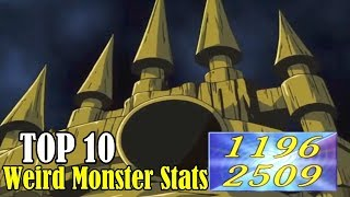 TOP 10: Weird Yu-Gi-Oh! Monsters Stats