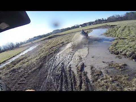 Muddy Fields Production! KTM350, SUPER SHERPA, XR250R, CRF80