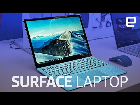 Microsoft's new Surface Laptop | Hands-on