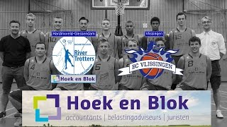 River Trotters Heren 1 vs BC Vlissingen