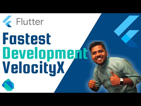 Fastest Flutter Development   VelocityX 1.0 Released   All in 1   With Animations Support