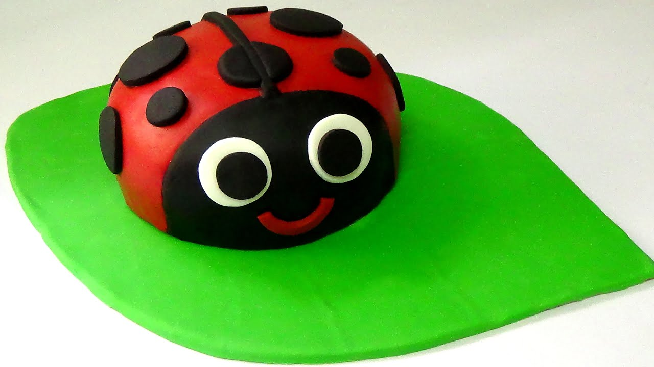 How To Make Ladybug Cake Youtube