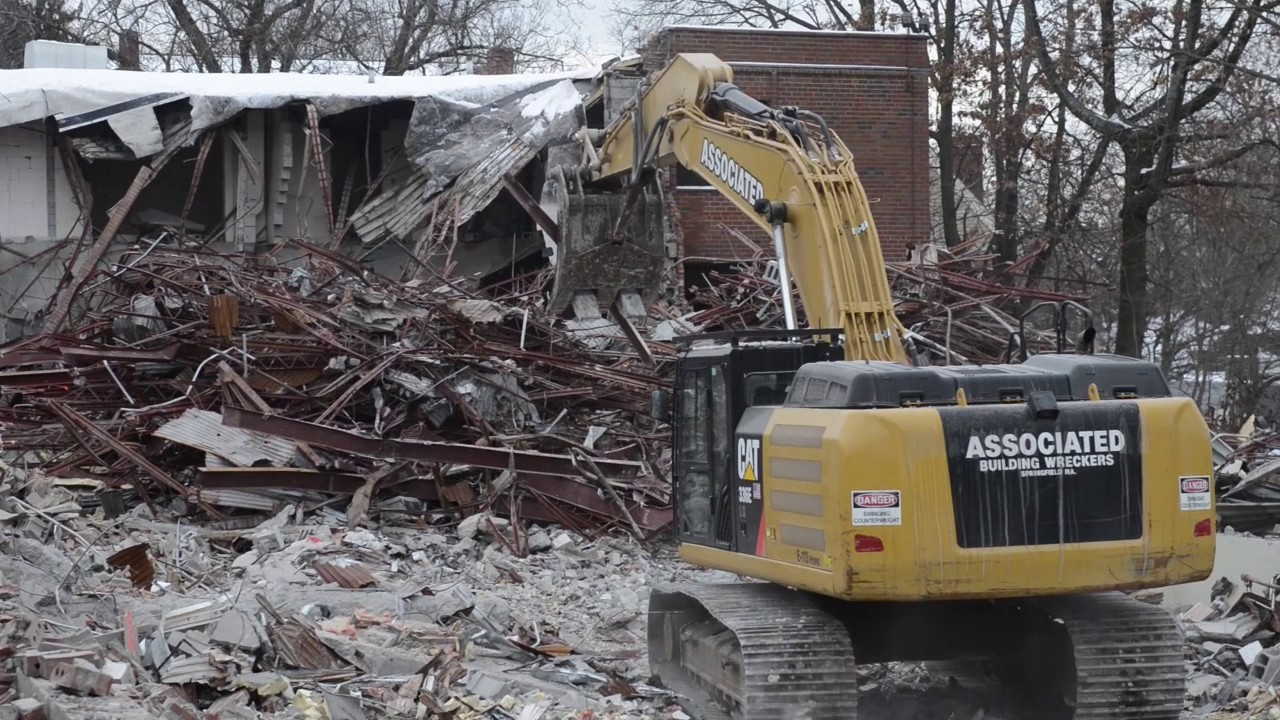 former ring nursing home in springfield demolished youtube