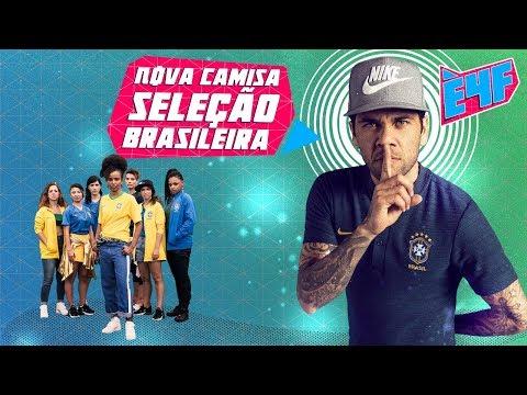NOVAS CAMISAS DO BRASIL - COPA DO MUNDO DA RÚSSIA - #49