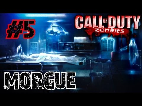 Call of Duty Custom Zombies: MORGUE▐ An AWESOME Easter Egg Re-Cap and ENDING! (Part 5)
