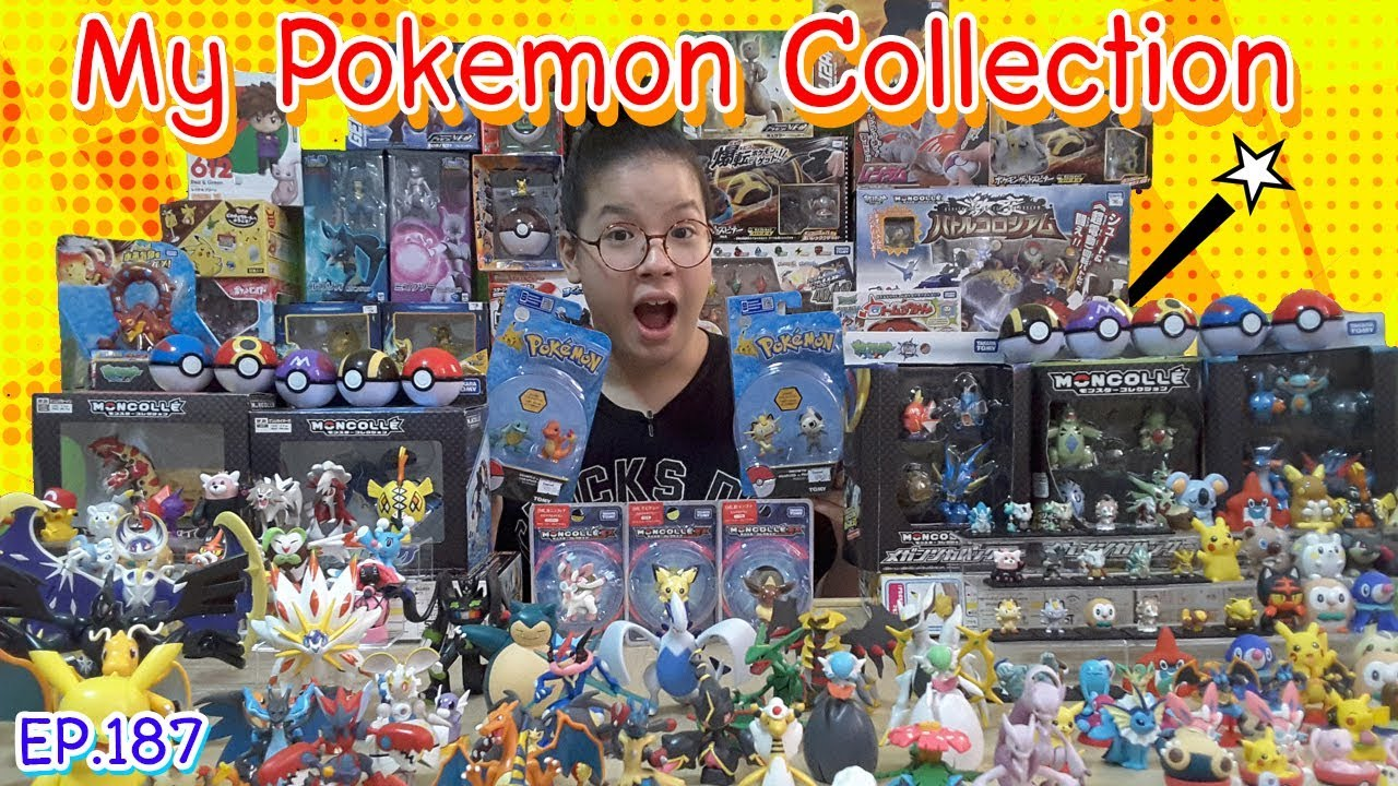 โมเดลโปเกม่อน ของเล่นโปเกม่อนที่สะสม | My Pokemon Collection EP.187 🎈 irin and cute toys channel