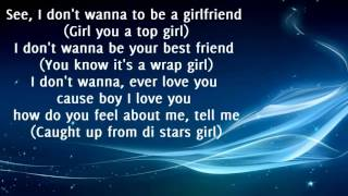 Sean Paul - How Deep Is Your Love Ft. Kelly Rowland  (Lyrics)