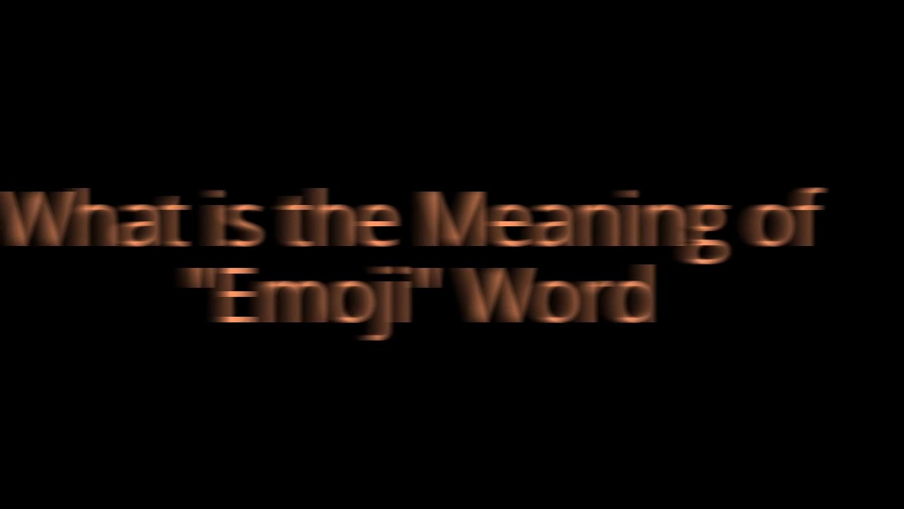 What is the meaning of emoji word emoji is japanese word what is the meaning of emoji word emoji is japanese word biocorpaavc Choice Image