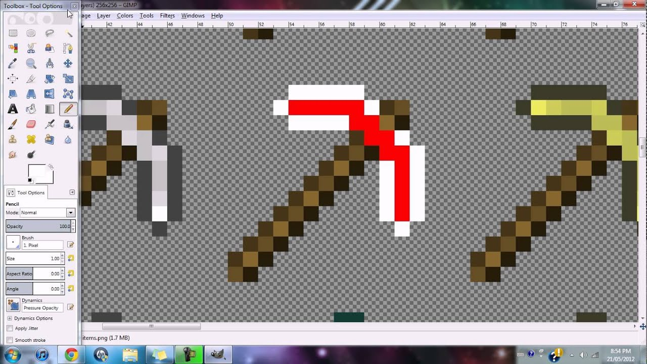 ~How To Make A Minecraft Texture Pack~ - YouTube