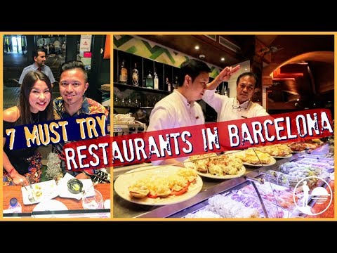 MUST TRY RESTAURANTS IN BARCELONA | EPIC Spain Food Guide