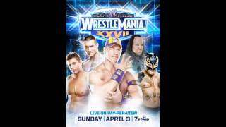 WWE Wrestlemania 27 Official Poster [HD]
