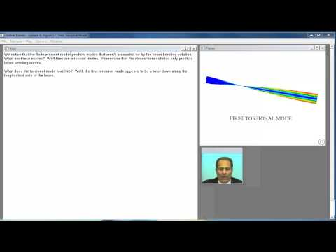 Case Study: Normal Modes of Fuel Sender Flange. Lecture 8.