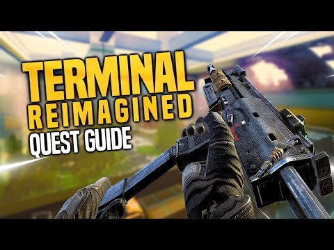 "60 Second Guides | ""TERMINAL REIMAGINED"" MAIN EASTER EGG GUIDE! (CUSTOM ZOMBIES)"