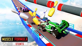 Formula Car Racing Stunt 3D - Impossible Mega Ramp Car Driving - Android Gameplay #79 screenshot 4