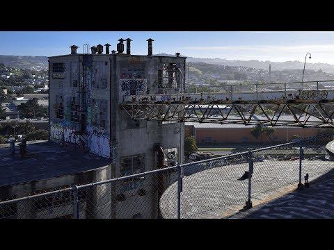 Historic Grain Silos Left to Decay
