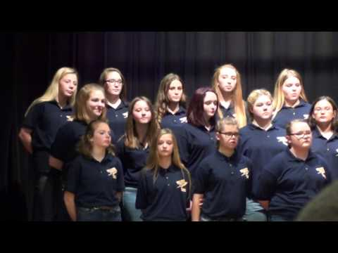"""Take On The World"" Wellston Middle School Choir"