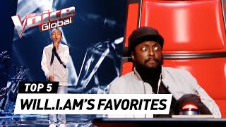 will.i.am's FAVORITE Blind Auditions on The Voice Kids UK