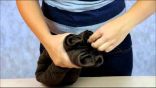 Jak zrobić z ręcznika  postać psa ?