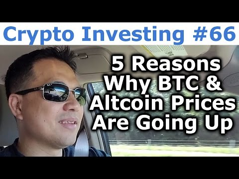 Crypto Investing #66 - 5 Reasons Why Bitcoin & Altcoin Prices Are Going Up - By Tai Zen