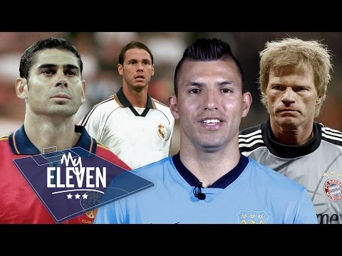 Sergio Aguero picks his greatest ever team | Messi, Maradona, Ronaldo & more!