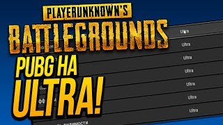 ЧТО БУДЕТ ЕСЛИ ИГРАТЬ В PUBG НА ULTRA ГРАФИКЕ? - Battlegrounds