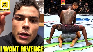 Paulo Costa slams 'Human Trash' Israel Adesanya for 'Humping' him at the end of their fight,Khamzat