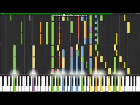 Jurassic Park Theme  Welcome To Jurassic Park Piano Tutorial Synthesia ( HD )