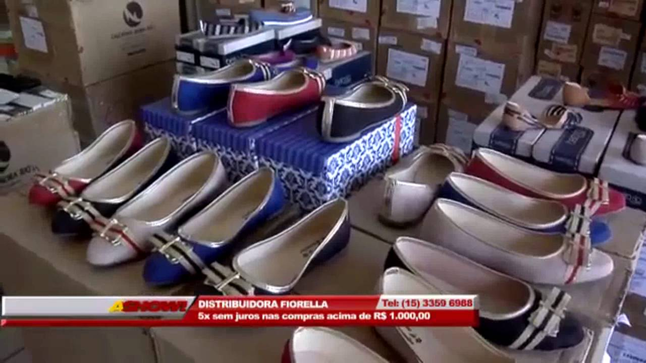 1f90dd99f26 Distribuidora de calçados Fiorella - Sorocaba - YouTube