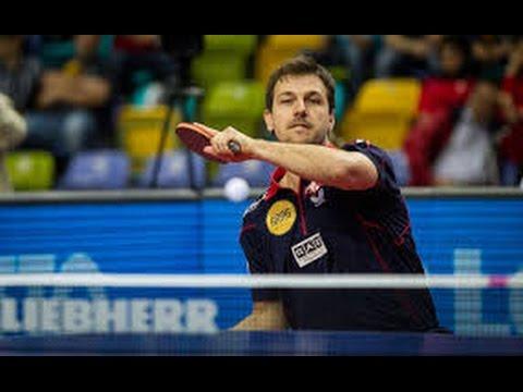 BOLL Timo Table Tennis 2008 Olympic MT F China vs Germany Match 2 MA Lin vs BOLL Timo