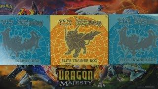 Opening 3x Pokemon Elite Trainer Boxes
