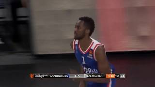 07.12.2018 / Anadolu Efes - Real Madrid / Rodrigue Beaubois