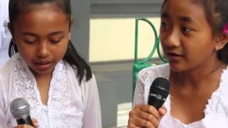 28 - 09 - 2015 Piodalan di SMP Negeri 1 Tegallalang (Video by : Widtison)