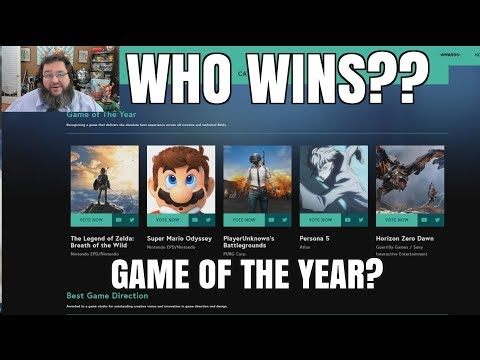 WHO WILL WIN THE GAME AWARDS??
