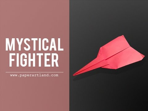 Paper Plane Test Flight - Mystical Fighter