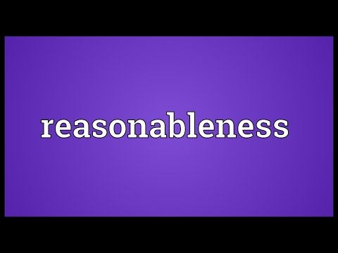 Header of reasonableness