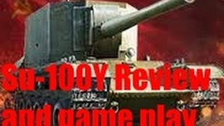 world of tanks SU 100Y review and game play