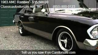 1963 AMC Rambler Cross Country for sale in Nationwide, NC 27 #VNclassics