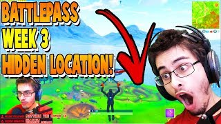 Follow The Treasure Map Found In Salty Springs | Battle pass Guide | Fortnite