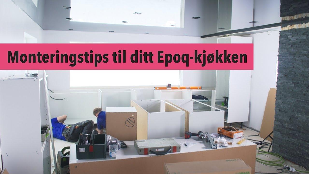 Unike 4. Epoq kjøkken – Montering - YouTube YR-27