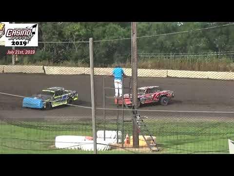 Casino Speedway WISSOTA Street Stock Heats (7/21/19)