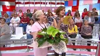 Fátima Lopes surpreendida pelas suas meninas