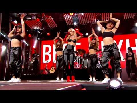 Bebe Rexha - No Broken Hearts Live (Jimmy Kimmel Live)