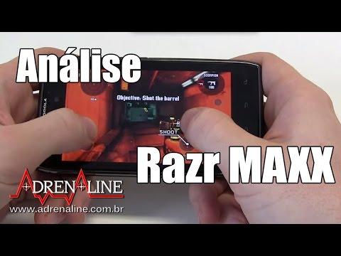 Análise em vídeo do Motorola Razr MAXX