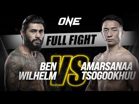 Ben Wilhelm vs. Amarsanaa Tsogookhuu | ONE Championship Full Fight
