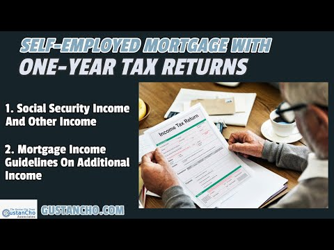 self-employed-mortgage-with-one-year-tax-returns