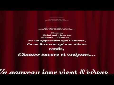 Vox Angeli - Chanter - Paroles