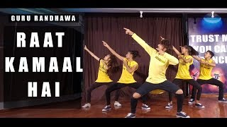 Raat Kamaal Hai Guru Randhwa | Vicky Patel Dance Choreography | Beginner Class Bollywood and Hiphop